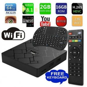 MXQ Pro 4K Android TV Box – Game Consoles and Gadgets 4 All